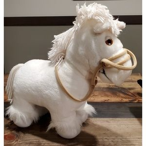 1984 Cabbage Patch Kids Show Pony White Horse
